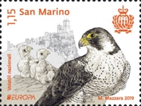 [EUROPA Stamps - National Birds, type CZR]