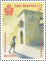 [EUROPA Stamps - Ancient Postal Routes, type DBG]