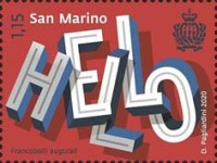 [Greetings Stamps, type DBO]
