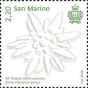 [The 50th Anniversary of the Asiago International Philatelic Art Prize, type DBX]