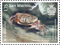 [EUROPA Stamps - National Fauna in Peril of Extinction, type DCJ]