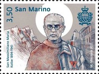 [The 80th Anniversary of the Death of St. Maximilian Maria Kolbe, 1894-1941, Typ DCL]