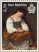 [The 450th Anniversary of the Birth of Caravaggio, 1571-1610, type DCM]