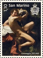 [The 450th Anniversary of the Birth of Caravaggio, 1571-1610, Typ DCN]