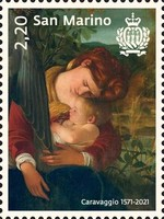 [The 450th Anniversary of the Birth of Caravaggio, 1571-1610, type DCO]