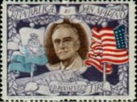 [The 2nd Anniversary of the Death of Franklin Delano Roosevelt, 1882-1945, Typ DJ]