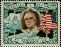 [The 2nd Anniversary of the Death of Franklin Delano Roosevelt, 1882-1945, Typ DJ1]