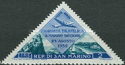 [Stamps Exhibition San Marino - Riccione, Typ GD]