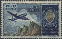[Airmail Stamps, Typ HB]