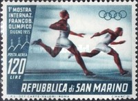 [International Exhibition of Olympic Stamps in San Marino, Typ HO]