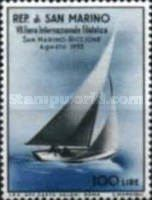 [Sailing Ship - International Stamp Exhibition San Marino - Riccione, Typ HP]