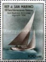 [Sailing Ship - International Stamp Exhibition San Marino - Riccione, Typ HP1]
