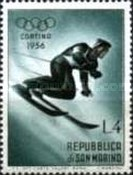 [Winter Olympic Games - Cortina d` Amprezzo 1956, Italy, Typ HW]