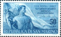 [Workers' Day Stamps of 1948 with Added Inscriptions, Typ IA]