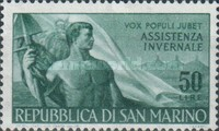 [Workers' Day Stamps of 1948 with Added Inscriptions, Typ IA1]