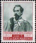 [The 150th Anniversary of the Birth of of Guiseppe Garibaldi, 1807-1882, Typ JH]