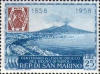 [The 100th Anniversary of Naples Stamps, Typ KB]