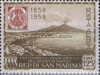 [The 100th Anniversary of Naples Stamps, Typ KC]