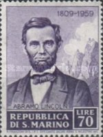 [The 150th Anniversary of the Birth of Abraham Lincoln, 1809-1865, Typ KT]
