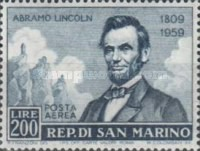[The 150th Anniversary of the Birth of Abraham Lincoln, 1809-1865, Typ KU]