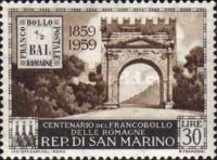 [The 100th Anniversary of Romagna Region Stamps, Typ KV]