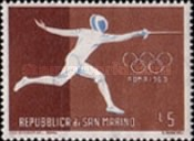 [Olympic Games - Rome, Italy, type LU]