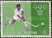 [Olympic Games - Rome, Italy, type LW]