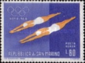 [Airmail - Olympic Games - Rome, Italy, type MC]