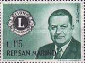 [Founding of Lions Club International, type MH]