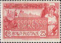 [Express Stamp, Typ P]