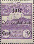 [For Combatants - No.34 & 44 Surcharged, type Q1]