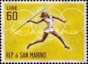 [Olympic Games - Tokyo 1964, Japan, Typ RC]