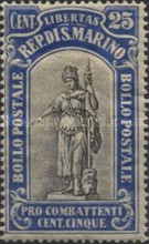 [War Casualties Foundation - Charity Stamps, type S4]