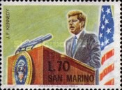 [The Anniversary of the Death of John F. Kennedy, 1917-1963, Typ SM]