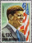 [The Anniversary of the Death of John F. Kennedy, 1917-1963, Typ SN]