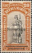 [War Casualties Foundation Stamps of 1918 Overprinted