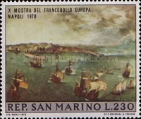 [Stamp Exhibition - Naples, Italy, type XE]