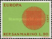 [EUROPA Stamps, type XF]