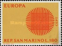 [EUROPA Stamps, type XF1]