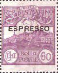 [ot Issued Stamp Overprinted - ESPRESSO, type Y]