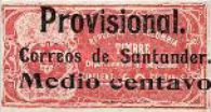 [Revenue Stamp Surcharged, type U]
