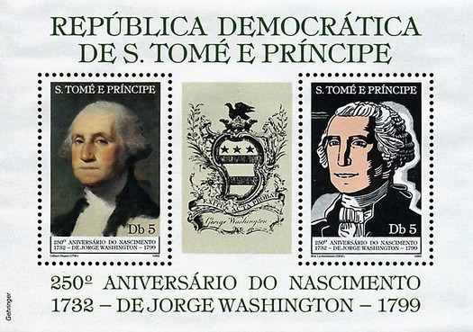 [The 250th Anniversary of the Birth of George Washington, 1732-1799, type ]