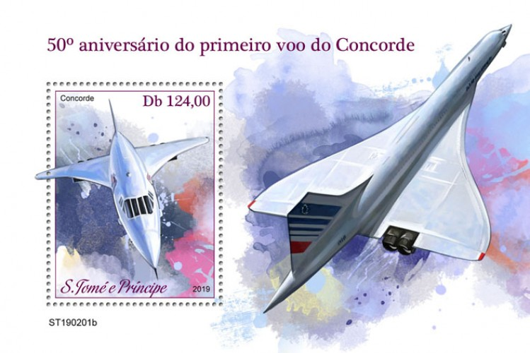 [Transportation - The 50th of the First Flight of Concorde, Typ ]