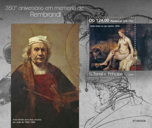[Paintings - The 350th Anniversary of the Death of Rembrandt, 1606-1669, Typ ]