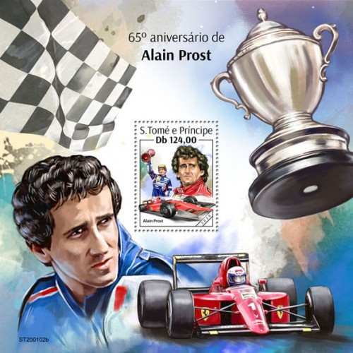 [The 65th Anniversary of the Birth of Alain Prost, type ]