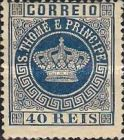 [Portuguese Crown - Different Perforation, Typ A13]