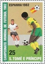 [Airmail - Football World Cup - Spain, type ME]