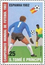 [Airmail - Football World Cup - Spain, type MF]