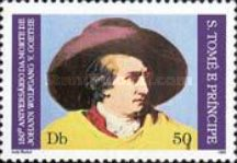 [The 150th Anniversary of the Death of Johann Wolfgang von Goethe (1749-1832), type MK]
