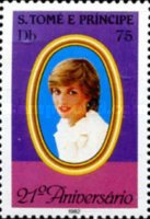 [The 21st Anniversary of the Birth of Diana, Princess of Wales (1961-1997), type ML]